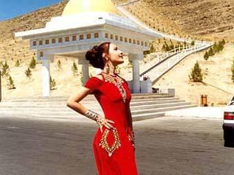 Фото вышивка туркменская